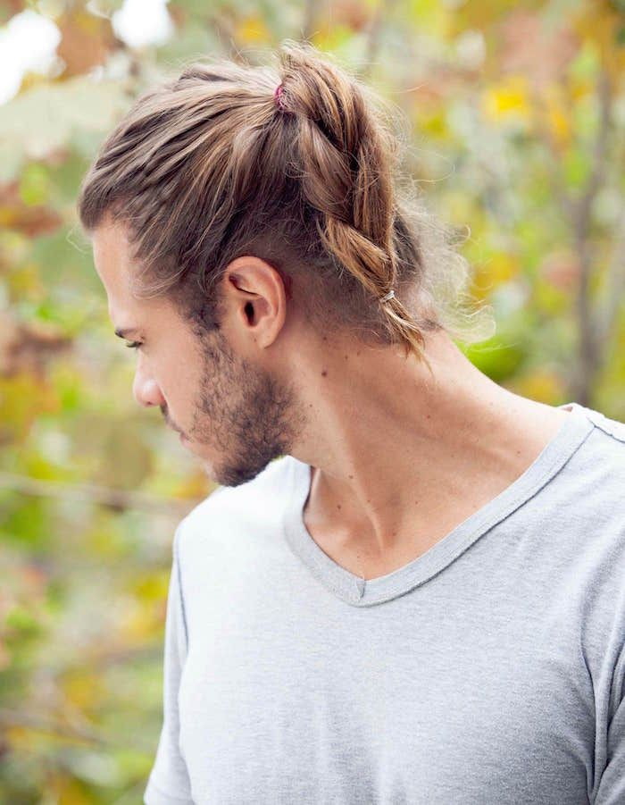 Epingle Sur Long Hair Men