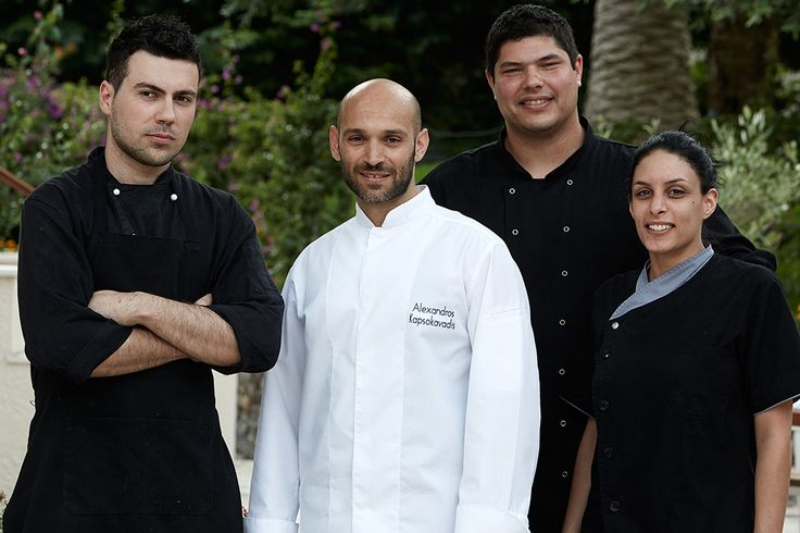 Our super team! #marbellacorfuteam #marbellacorfu #chefs #happy greece #greekbreakfast