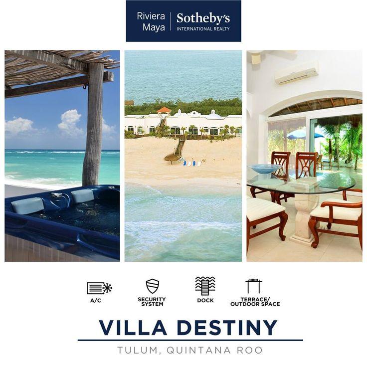 VILLA DESTINY   Tulum, Quintana Roo INFO: alopez@sirmexico.com