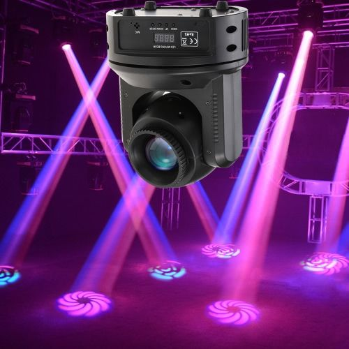 60W RGBW 11/16 Channel 12 Gobos LED Beam Effect Stage Light