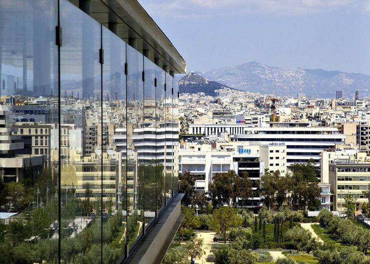 Athens  - Panoramic view - The Stavros Niarchos Foundation Center