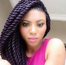 Interesting Black Hairstyles Fashion And Natural Hair Photo For Women Worldwide Purple Twist Braid Extension