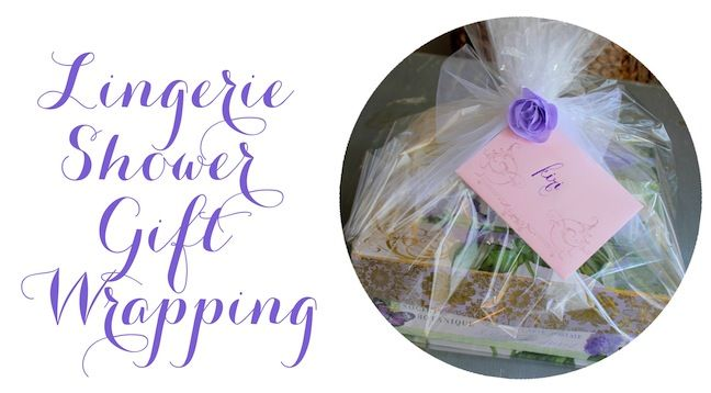 A while back, we did a post on Bridal Shower ideas (you can see it here). Well, for the Lingerie Shower idea, we gave you gift ideas, but we had some readers ask us how to make it.