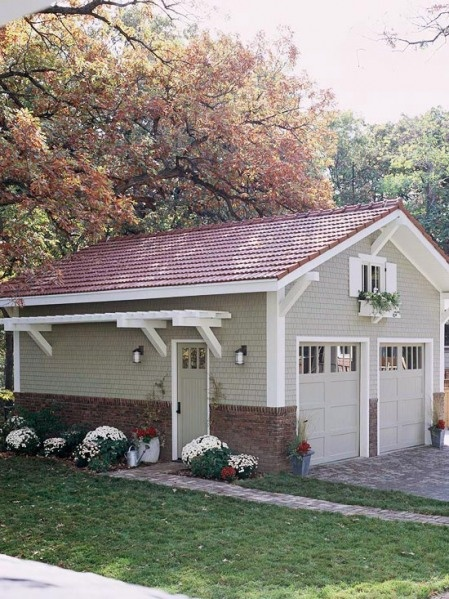 ADDING CHARM TO THE GARAGE AREA (19-bhg garage freestanding)