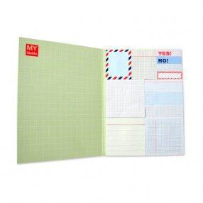 Sticky Notes Buch 1 mit 12 Designs