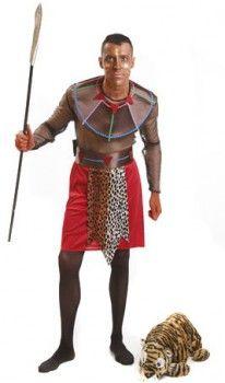Disfraz de Negro Africano hombre
