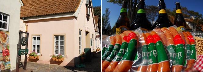 Okayama|岡山(おかやま)|岡山農業公園 ドイツの森|マイスターショップ「ミューレ」| 手作り製品や輸入食品のお店。 ここで作られた自家製品をお土産としてお買い求めいただけます。 ・自家製食品(ソーセージ、アイスクリーム) ・地ビール等とドイツ直輸入食品、ドイツワインも販売しております。 ・又、御中元、御歳暮などのギフトの販売もこちらで承っておりますのでお申しつけ下さい。