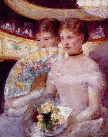 Mary Cassatt. A very sensitive touch in this piece.