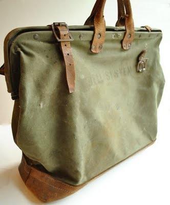 Vintage Holdall travel bag