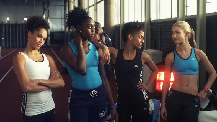 Still Of Lashana Lynch, Lily James, Dominique Tipper And Hannah Frankson In Fast Girls (2012)