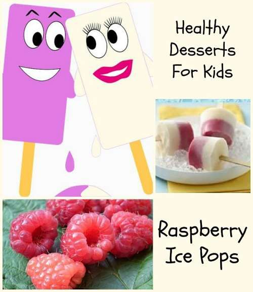 Easy to make healthy #desserts for #kids: http://kidsmakingchange.com/healthy-desserts-for-kids/