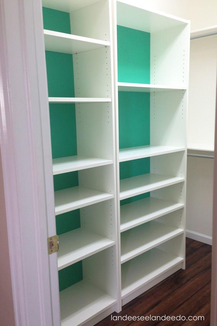 Best 25 bookcase closet ideas on pinterest ikea closet for Bookcase closet