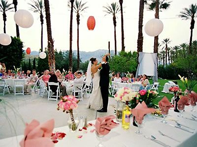 Cree Estate: Palm Springs Wedding Venue  Address withheld to ensure privacy.  Palm Springs, CA   Contact: Locations Unlimited  Phone: 760/772-8313  www.CreeEstate.com