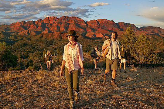 Exploring the ancient Flinders Ranges, Arkaba Walk, South Australia