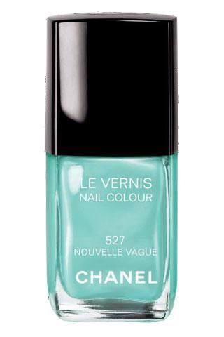 Tiffany: Chanel Nouvelle, New Wave, Nail Polish, Nails Colors, Tiffany Blue, Nailpolish, Chanel Nails Polish, New Vagu, Blue Nails