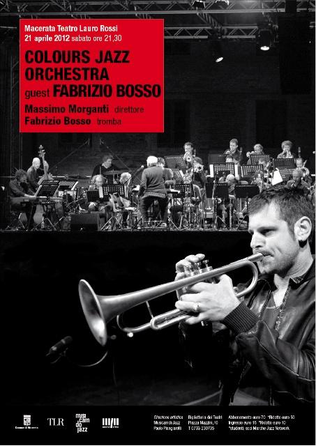 COLOURS JAZZ ORCHESTRA special guest FABRIZIO BOSSO