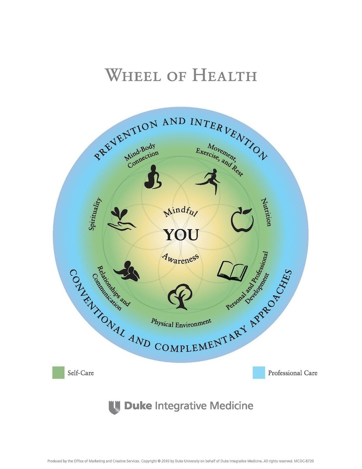 American Holistic Health Association |Holistic Health Wheel