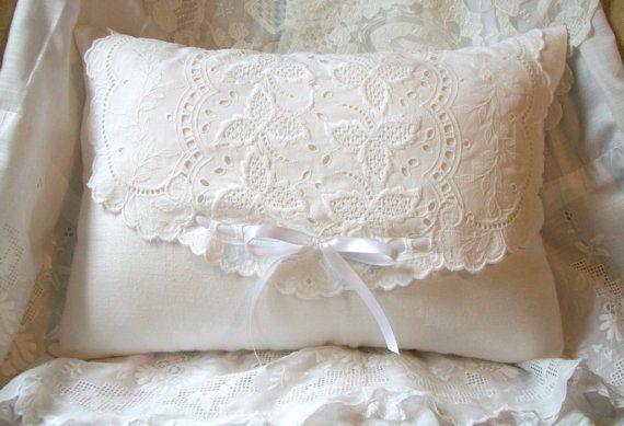 Pillows-SimplyWhite by espritdejoie on Etsy, $43.00