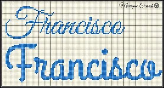 nome ponto cruz francisco
