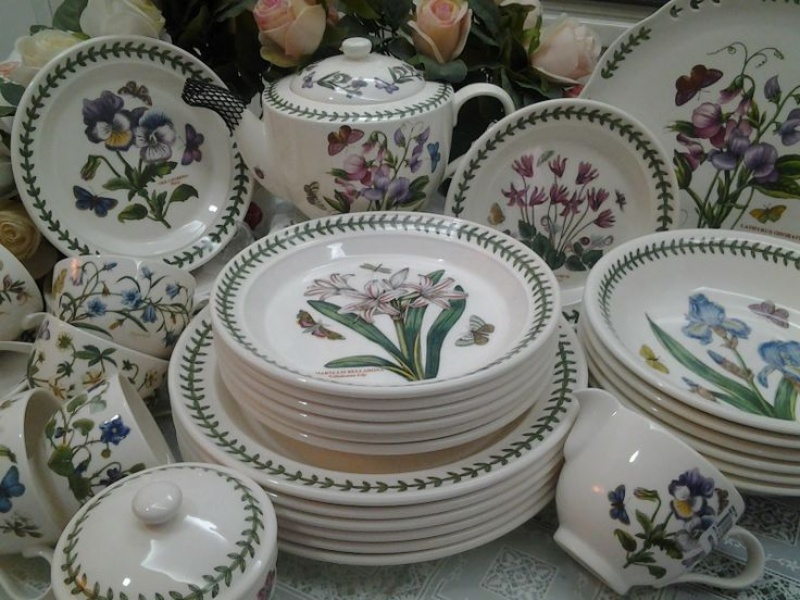 portmeirion botanic garden 17 piece plate set my style pinterest gardens plate sets and plates