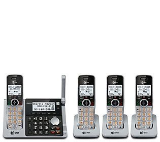 AT&T Cordless Phone with 4 Handsets Caller ID and Call Block