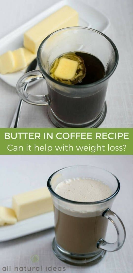 What's up with people adding butter to their coffee? Yes, butter in coffee is a thing. There's a popular butter coffee recipe and even fad diets. | allnaturalideas.com via @allnaturalideas