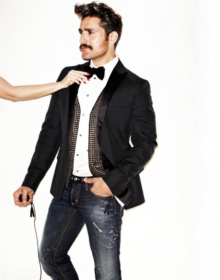 Loving Simon's new campaign!  Stylist:  Randy Smith, Judy Inc  Photography:  Douglas Friedman  Models:  Kirsty Hume and Douglas Friedman