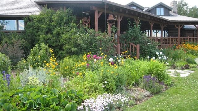35 best beautiful edible landscaping images on pinterest for Professional landscaping ideas