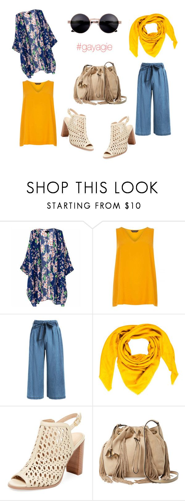 """""""Sunny Day at campus"""" by anggiswastika on Polyvore featuring Dorothy Perkins, Goyard, Renvy and Diane Von Furstenberg"""