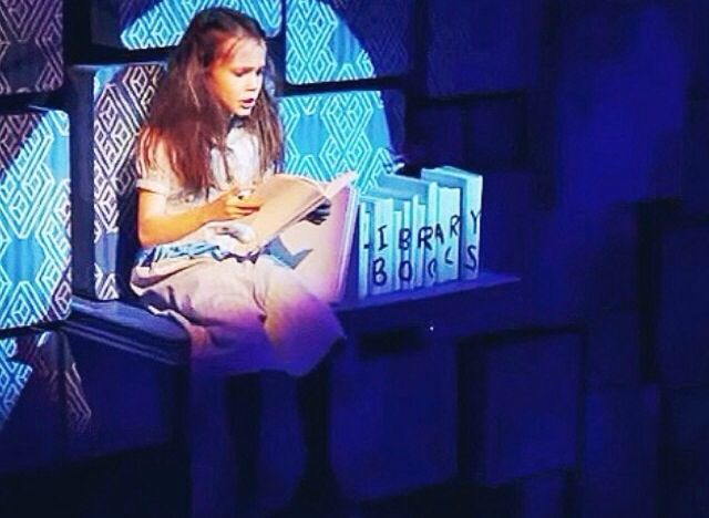 Oona Laurence Matilda the Musical Broadway