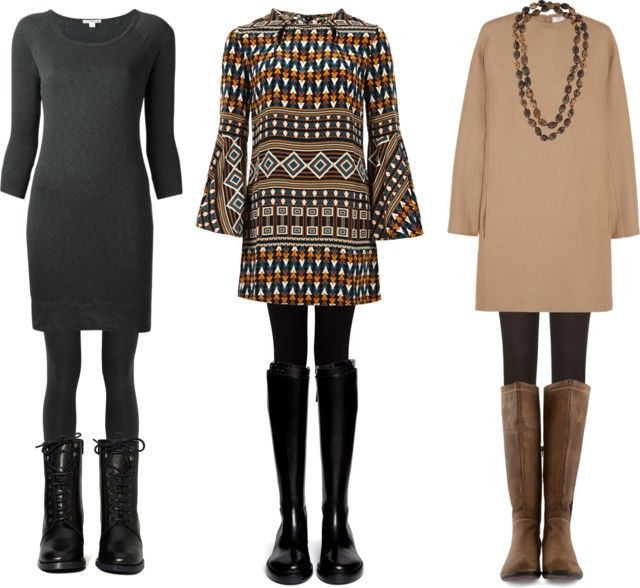 Layering with leggings & boots via Wardrobe Oxygen #fall #layers
