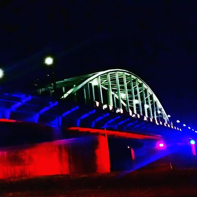 John Frostbridge by night, Arnhem
