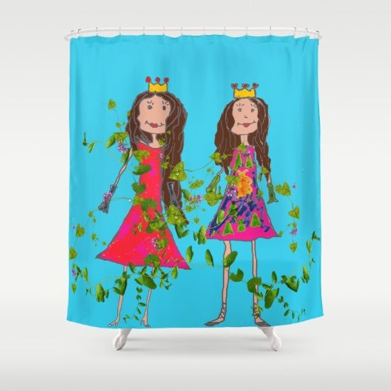 #society6 #society6promo #society6home #shareyoursociety6 #summertowel #yoga 20% Off + Free Shipping - Today Only!  https://society6.com/product/girl-friends-zx7_shower-curtain?curator=azima