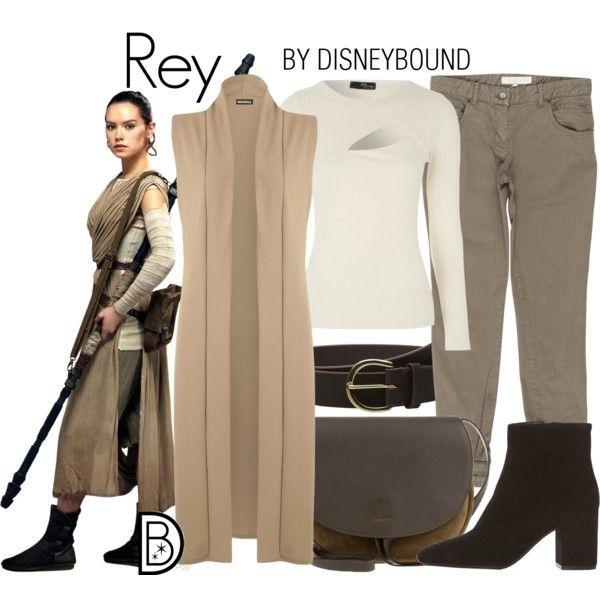 Disney Bound - Rey                                                                                                                                                                                 More