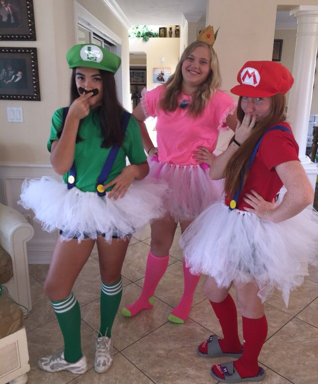 Group costume for Halloween