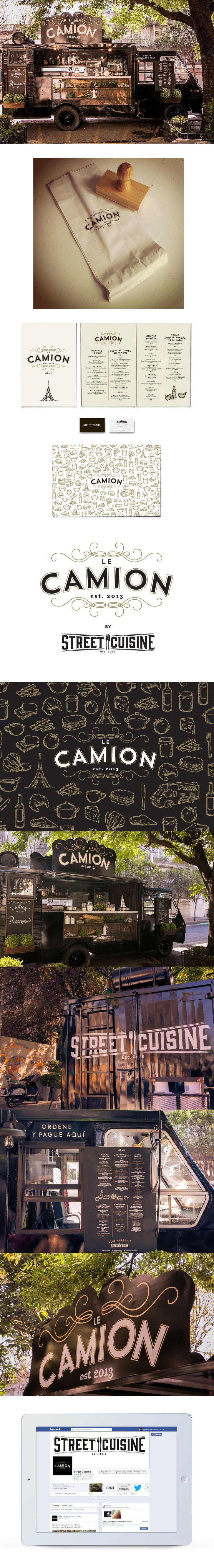 Le Camion on Behance                                                                                                                                                                                 More