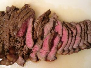 Top Round Steak Sliced.