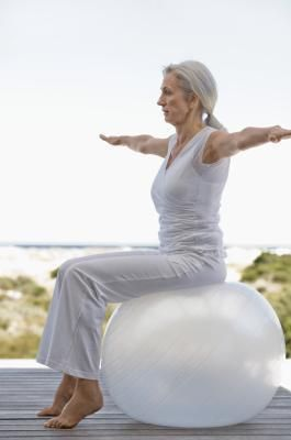 The SI joint, which is an abbreviation for sacroiliac joint, is one of two joints that connect the tailbone to the large pelvic bone. This area and the area around the sacrum is the main nerve center of the body, and the place from which much of our lower back pain stems, according to the website Pilates-Back-Joint-Exercise. Using an exercise ball,...