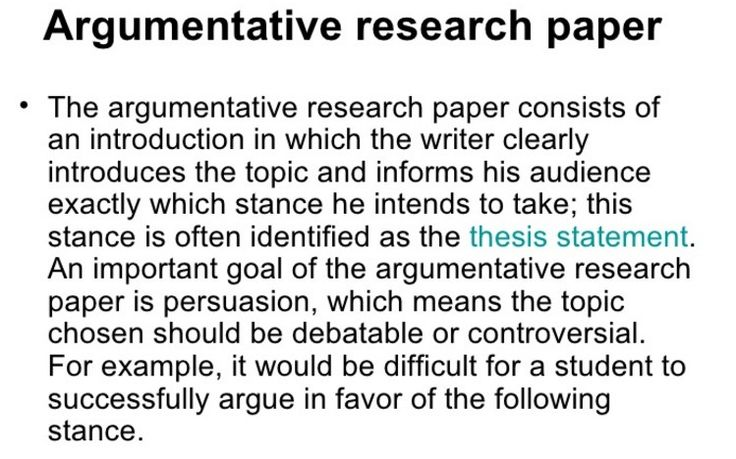awesome How to Write an Argumentative Research Paper? -- Definition, Topics, Structure