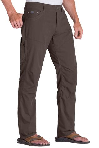 Turkish Coffee brown coloured men's sun protective trouser