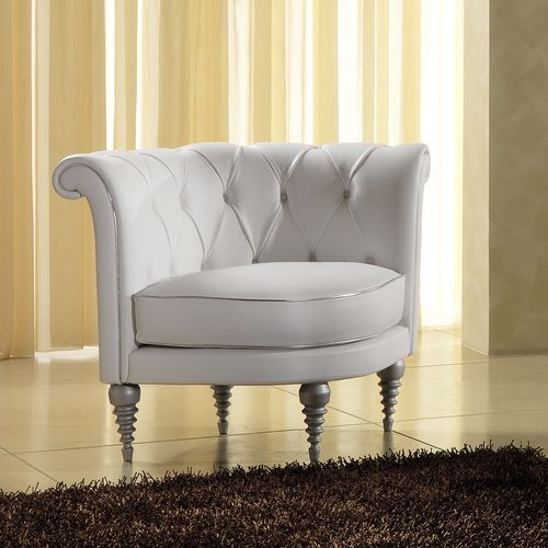 Traditional leather armchair - ASTRID MAXDIVANI - ArchiExpo