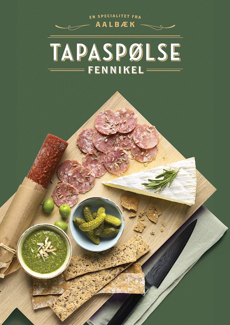 Tapas Aalbæk specialiteter on Behance