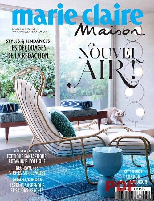 Buy A Subscription Of Marie Claire Maison France Magazine From The Worlds Largest Online Cafe Store In USA Home Design