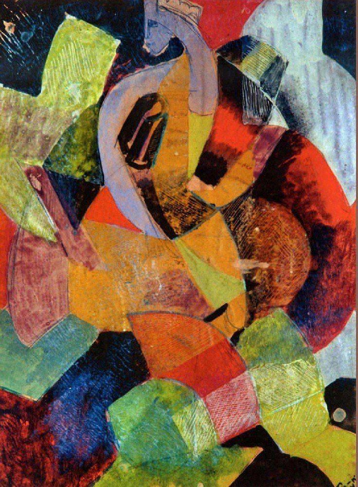 """Владимир Давидович Баранов-Россине (еврейское имя — Шулим Вольф Лейб Баранов, псевдоним Даниэль Россинэ; 1 января 1888, Херсон — 1944, Аушвиц). """"Абстракционизм - abstract art"""" в социальных сетях - http://www.1abstractart.com/---abstract-art"""