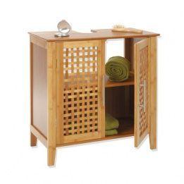 Armario para lavabo Bambú