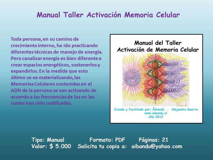 Manual del taller Activación de Memoria Celular ... formato PDF