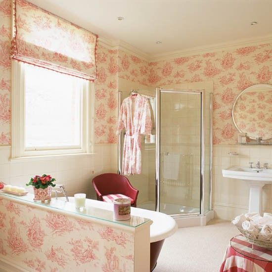 Tapeten Franz?sischer Landhausstil : French Style Bathroom Ideas