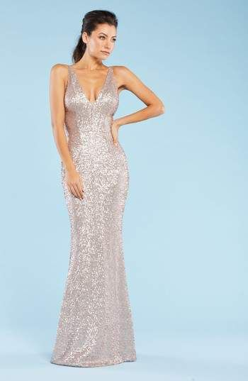 Dress The Population Harper Mermaid Gown Evening Gowns Pinterest