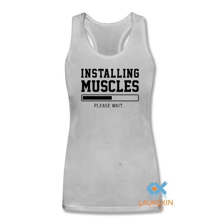 Now available on our store: INSTALLING MUSCLE... Check it out here! http://www.iramstore.in/products/installing-muscles-funny-gold-print-slogan-singlets-vest-swag-sleeveless-bodybuilding-stringers-vest-women-tank-tops?utm_campaign=social_autopilot&utm_source=pin&utm_medium=pin