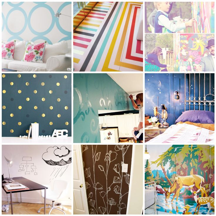 10 Innovative Techniques and Tutorials for Painting Walls